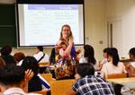 【創価大学】模擬授業&先輩たちとの交流で留学意欲アップ!